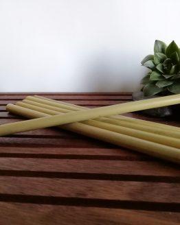 Strohhalme aus Bambus