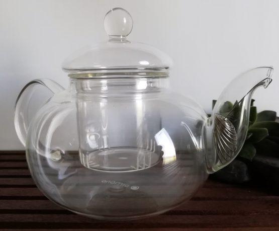 Borosilikatglas Teekanne